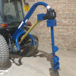 Tractor Mounted PTO Post Hole Borer
