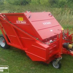 Tomlin RC120 Sweeper Collector